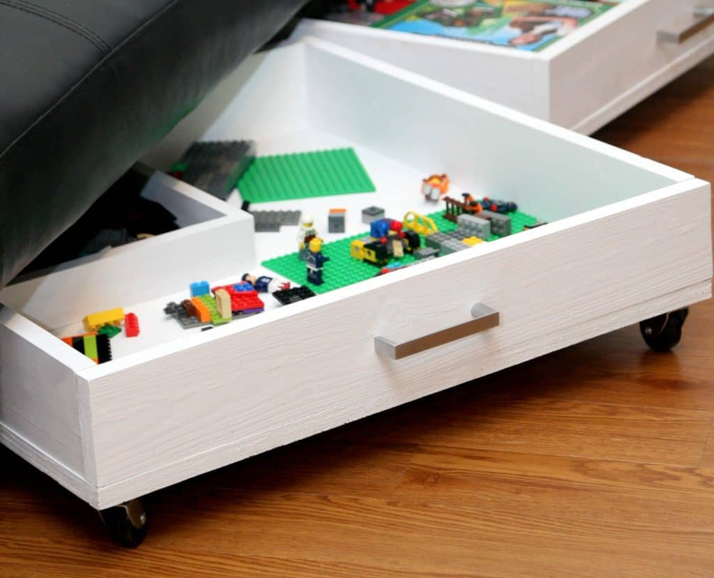 Rolling Storage Drawers