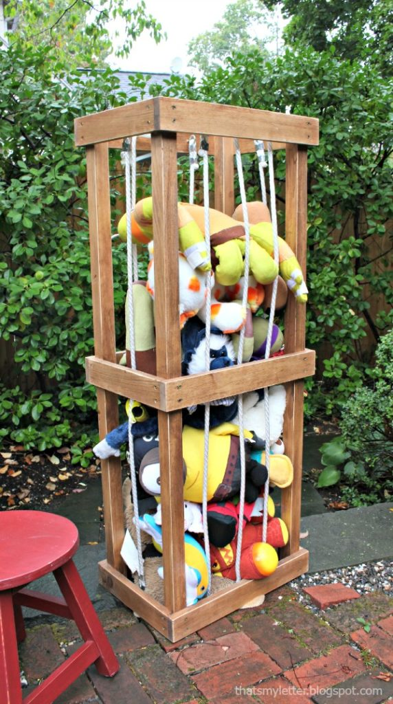 Stuffed Animal Storage Zoo