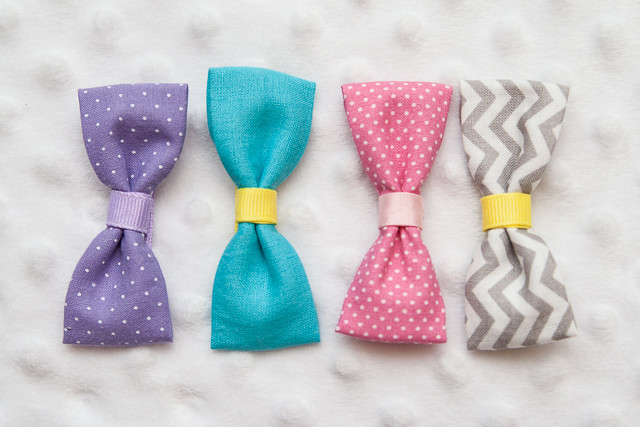 Easy Fabric Bows