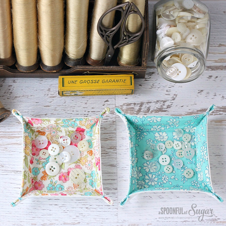 Square Fabric Trays