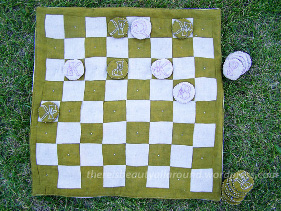 Fabric Chessboard