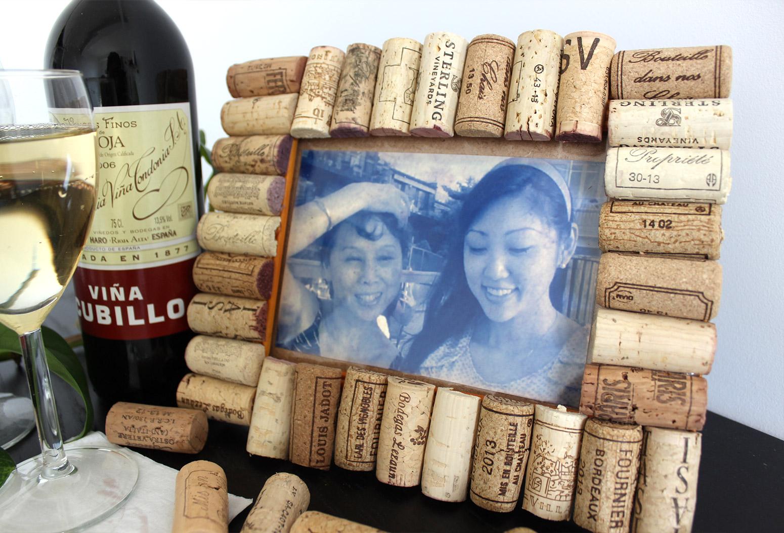 Wine Cork Picutre Frame