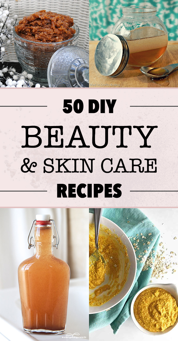 50 DIY Beauty and Skin Care Recipes