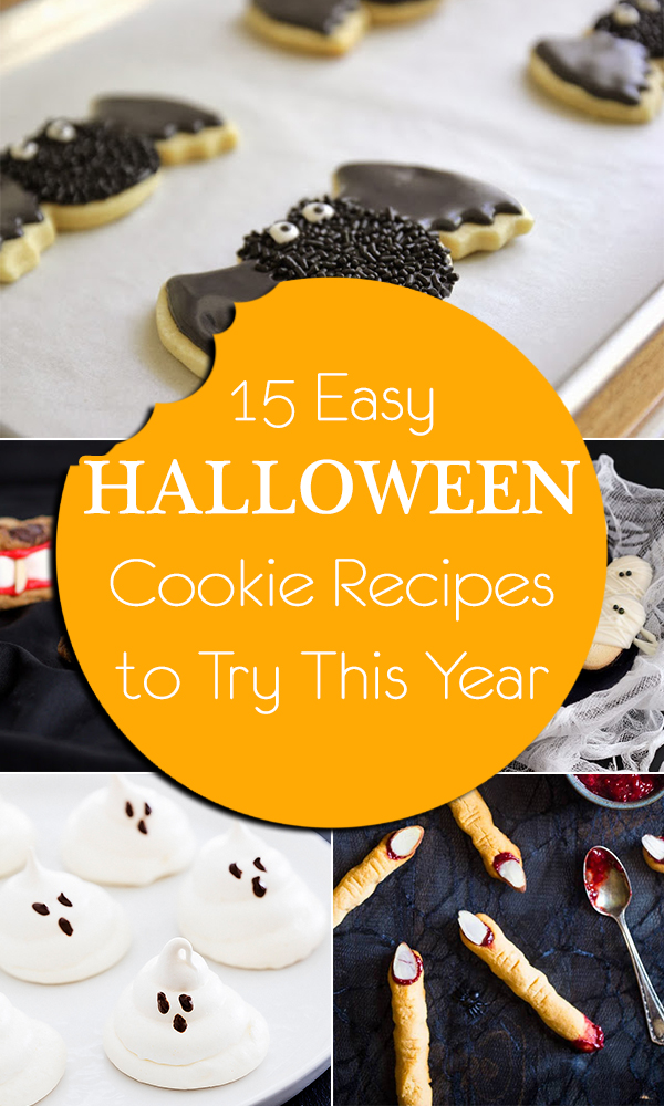 15 Easy Halloween Cookie Recipes to Try This Year