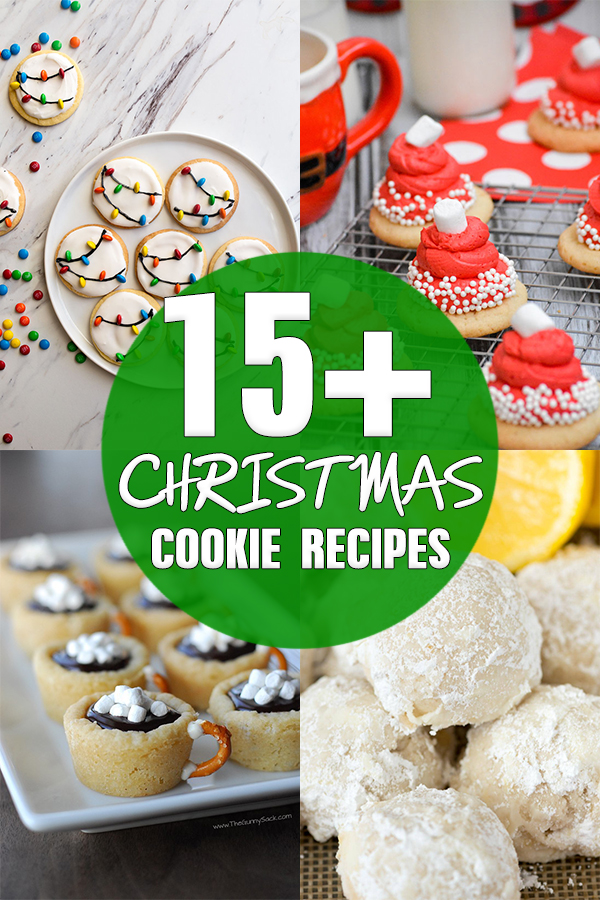15+ Easy Christmas Cookie Recipes