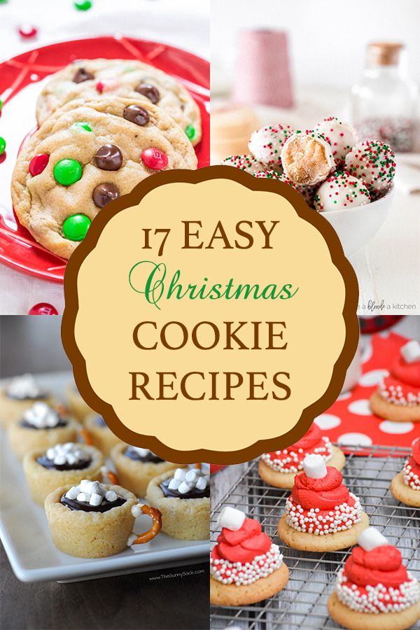 17 Easy Christmas Cookie Recipes