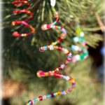 Beaded Christmas Tree Ornaments