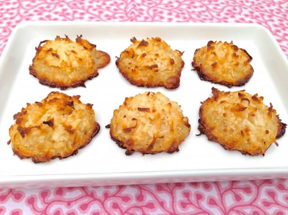 Crispy Coconut Macaroons