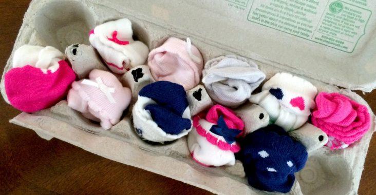 Baby Sock Organizer