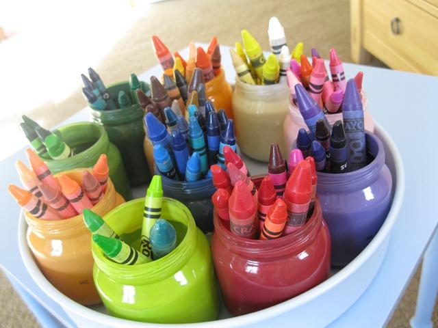 Crayon Storage