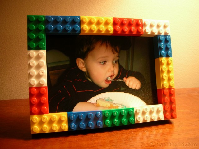 Lego Picture Frame