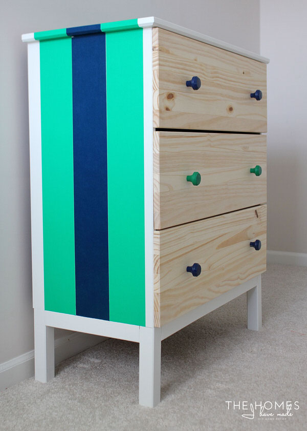 Spruce Up Your Furniture With Washi Tape