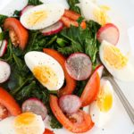 Crunchy Kale and Egg Salad