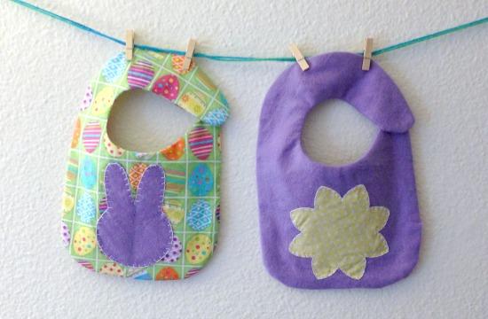 Easter Baby Bibs