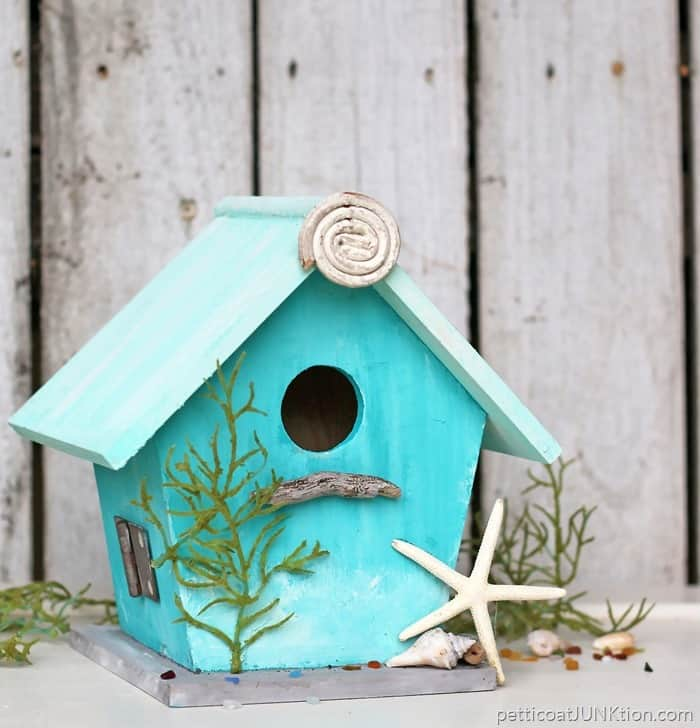 Nautical Beach Themed Birdhouse