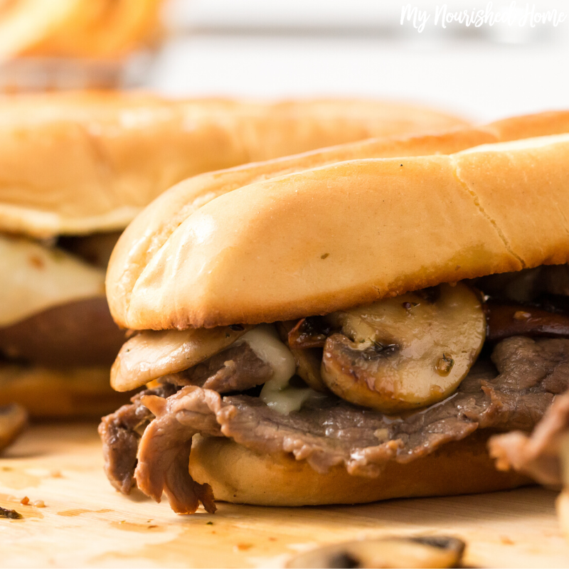 15 Minute Steak Sandwiches
