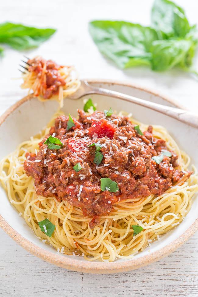 Super Easy Spaghetti Recipe