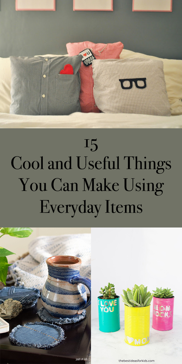 15 Cool and Useful Things You Can Make Using Everyday Items