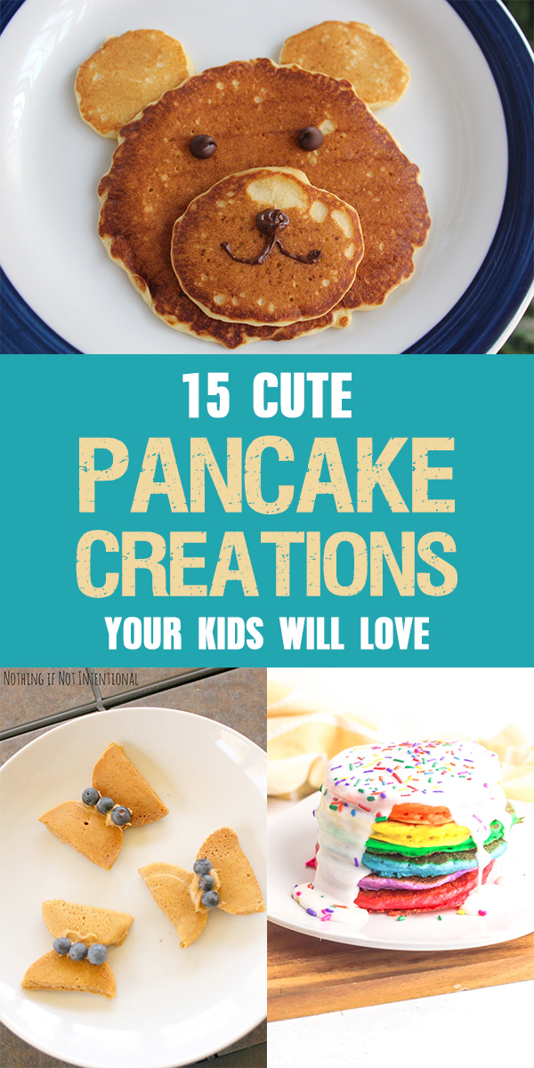 15 Cute Pancake Creations Your Kids Will Love