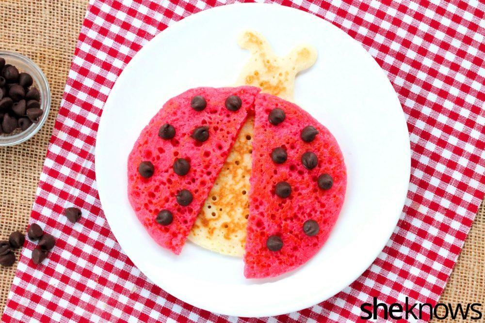 Ladybug Pancakes