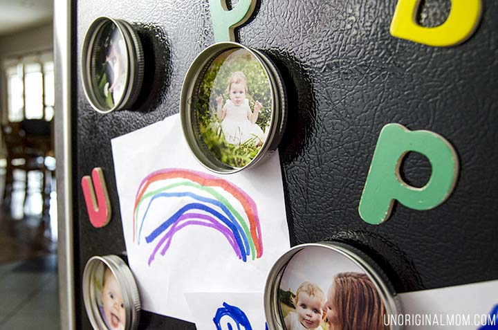 Mason Jar Lid Magnets