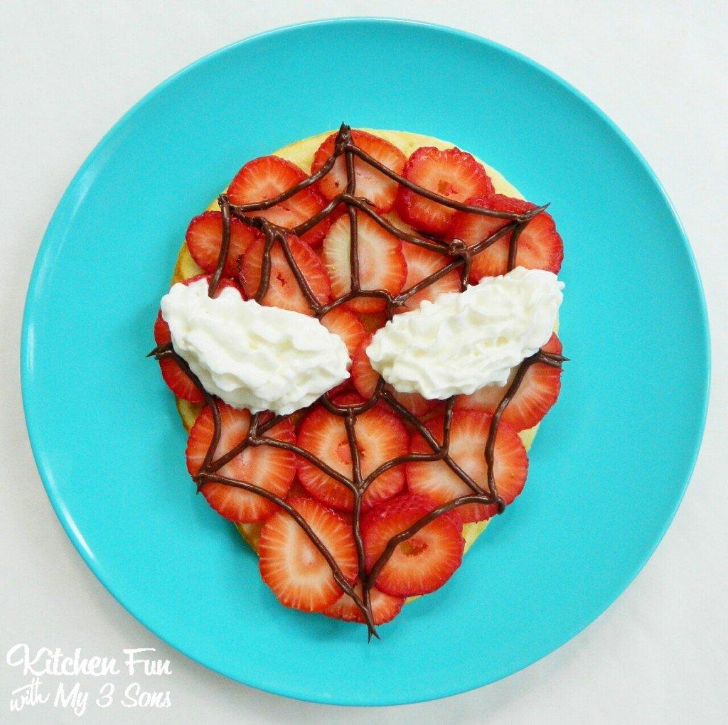 Spider Man Pancakes