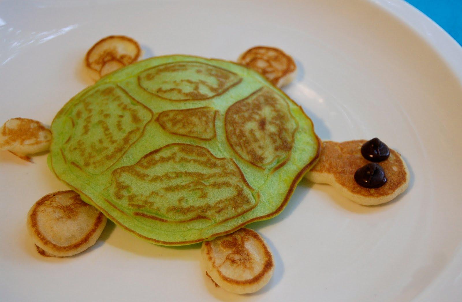 Turtle Pancakes